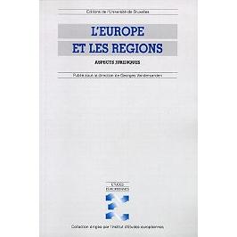 L'Europe des régions : aspects juridiques