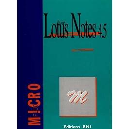 Lotus Notes 4.5