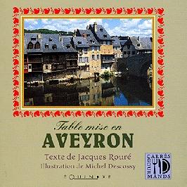 Table mise en Aveyron