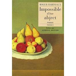 Impossible d'être abject