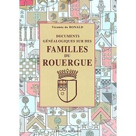 Documents généalogiques sur des familles du Rouergue