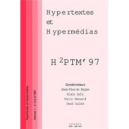 Hypertextes et hypermédias, réalisations, outils et méthodes