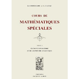 Cours de mathématiques spéciales