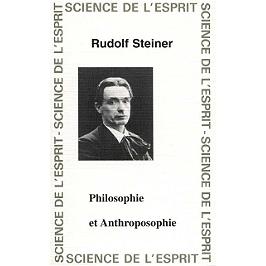 Philosophie et anthroposophie