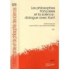 Les philosophies françaises et la science : dialogue avec Kant