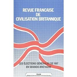 Revue française de civilisation britannique, n° 9-3