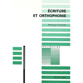 Ecriture et orthophonie