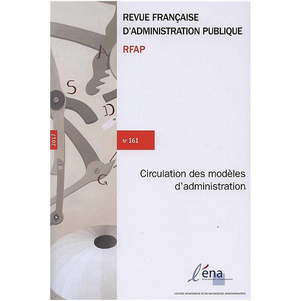 REVUE FRANCAISE D'ADMINISTRATION PUBLIQUE