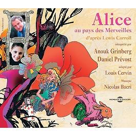Alice au pays des merveilles : d'après Lewis Carroll
