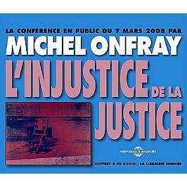 L'injustice de la justice