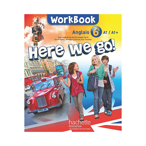 Here We Go Anglais 6e A1 A1 Workbook