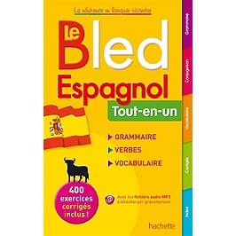 Bled espagnol : tout-en-un : grammaire, verbes, vocabulaire