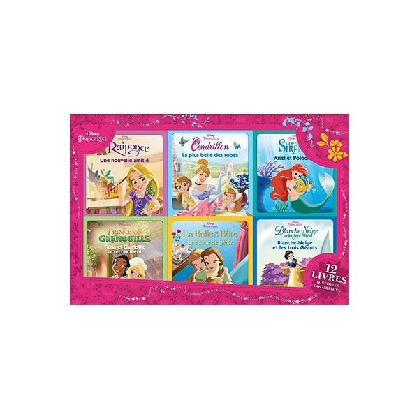 Coloriage Ariel Et Raiponce.Disney Princesses 12 Livres Histoires Coloriages Raiponce
