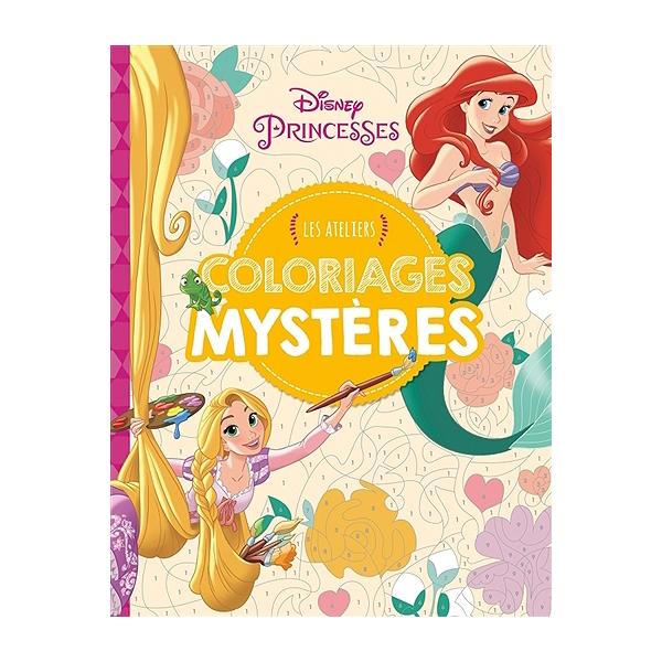Coloriage Mystere Disney Leclerc.Disney Princesses Coloriages Mysteres Coloriages Mysteres Walt