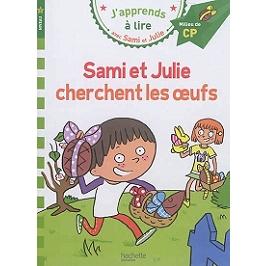 Sami et Julie cherchent les oeufs : niveau 2, milieu de CP