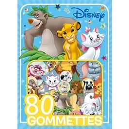 Animaux Disney : 80 gommettes