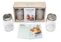 Lunch jars : 30 recettes à boire et manger : à emporter de S'cuiz in - Coffret