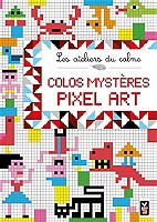 Pixel Art Coloriage Espace Culturel Eleclerc