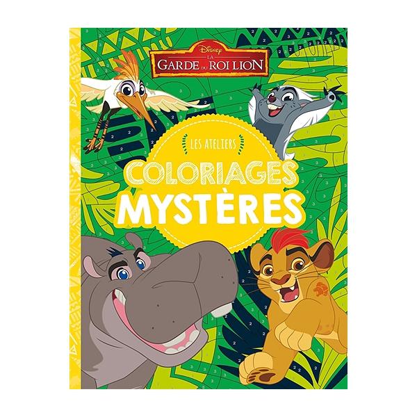 Coloriage Mystere Disney Leclerc.La Garde Du Roi Lion Coloriages Mysteres Coloriages Mysteres