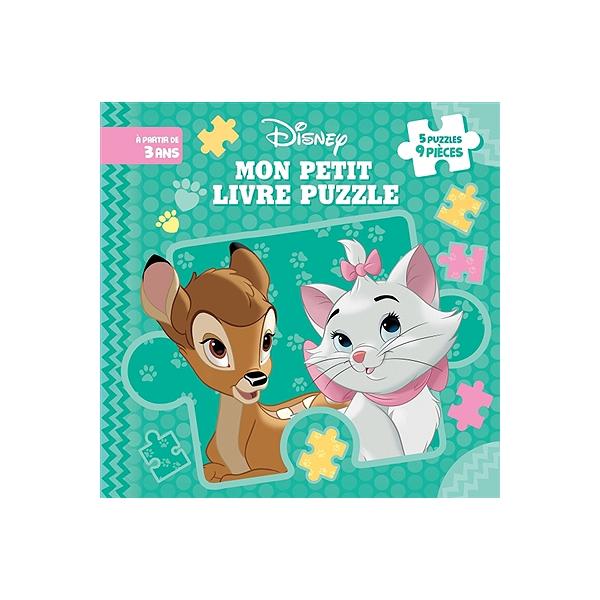 Les Bebes Disney Mon Livre Puzzle