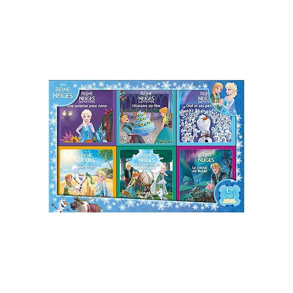 Livre Coloriage Reine Des Neiges.La Reines Des Neiges 12 Livres Histoires Coloriages La