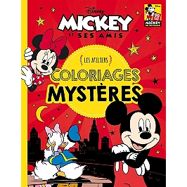 Coloriage Mystere Disney Leclerc.Mickey Mouse Coloriages Mysteres Walt Disney Company