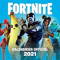 Fortnite : calendrier officiel 2021 - Broché