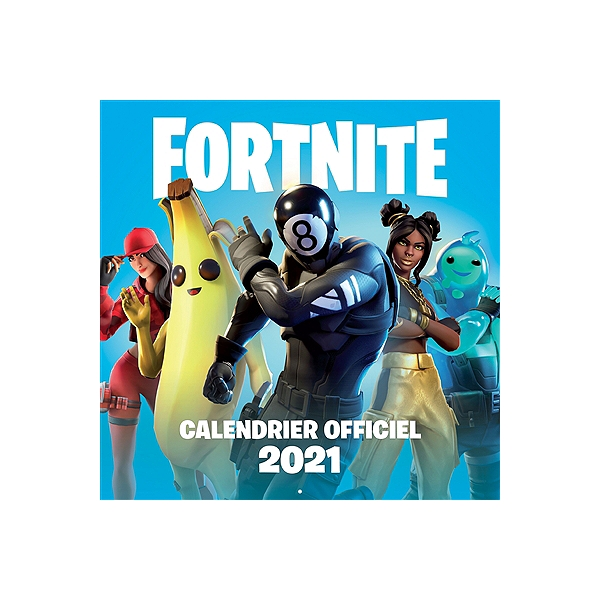 Fortnite : calendrier officiel 2021   9782016291399   Espace