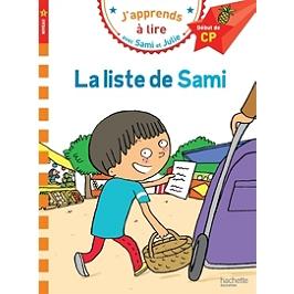 La liste de Sami : niveau 1, début de CP
