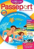 Passeport du CE2 au CM1, 8-9 ans : toutes les matières : nouveaux programmes de Michèle Bacon