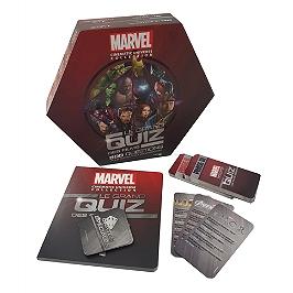 Marvel cinematic universe collection : le grand quiz des films : 500 questions pour tester vos connaissances
