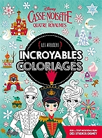 Coloriage Cirque Bout De Gomme.Disney Incroyables Coloriages Espace Culturel E Leclerc