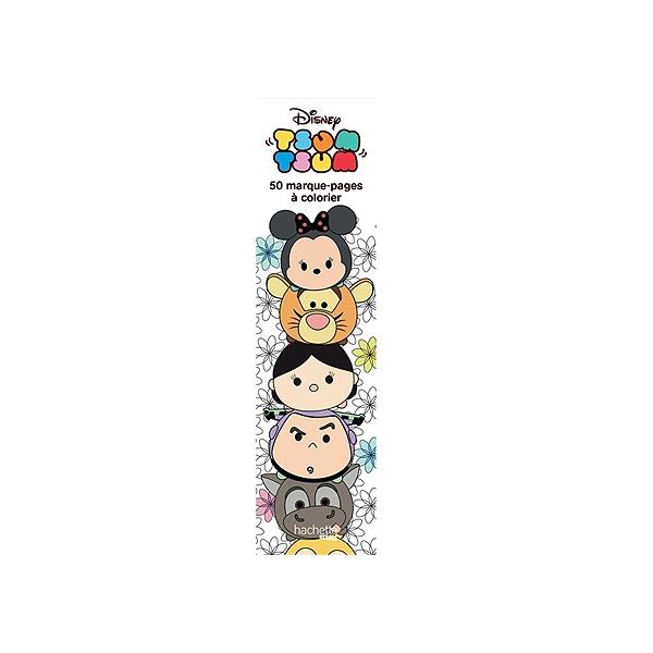 Tsum Tsum 50 Marque Pages A Colorier Walt Disney Company 9782017058021 Espace Culturel E Leclerc