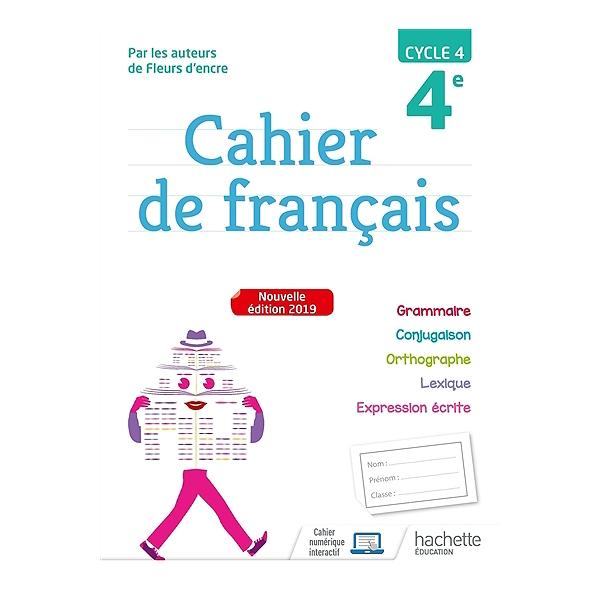 Cahier De Francais 4e Cycle 4