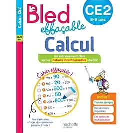 Le Bled effaçable, calcul, CE2, 8-9 ans