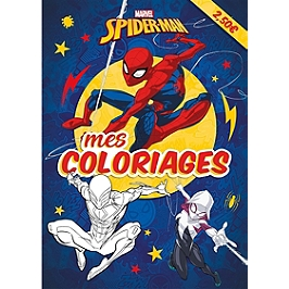 Spider-Man : mes coloriages