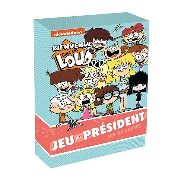 Bienvenue Chez Les Loud Jeu Du President Jeu De Cartes
