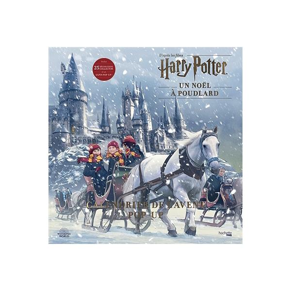 Jeu Concours Calendrier De Lavent 2020.Un Noel A Poudlard D Apres Les Films Harry Potter Calendrier De L Avent Pop Up