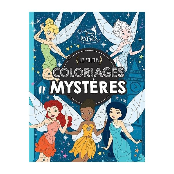Coloriage Mystere Disney Leclerc.Les Fees Coloriages Mysteres Coloriages Mysteres Walt Disney