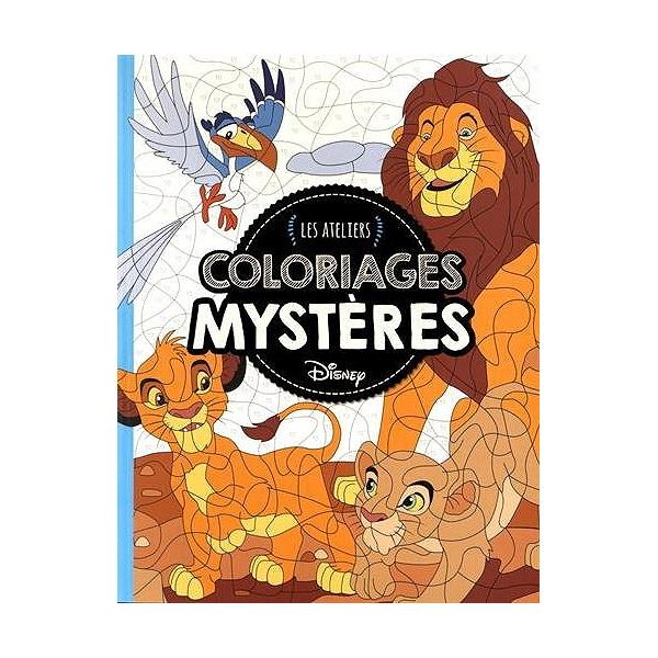 Coloriage Mystere Disney Leclerc.Animaux Coloriages Mysteres Coloriages Mysteres Walt Disney