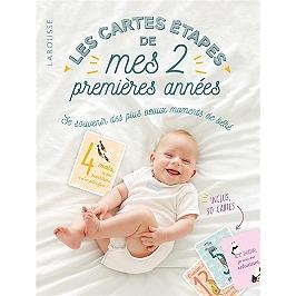 Les cartes étapes de mes 2 premières années : se souvenir des plus beaux moments de bébé