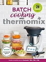 Batch cooking avec Thermomix de Bérengère Abraham - Cartonné