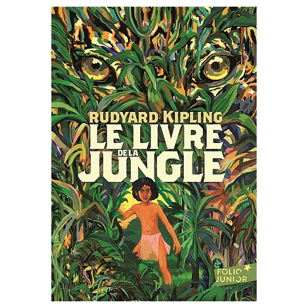 Détails sur Le Livre de la Jungle * Rudyard Kipling * roman Folio Junior * Mowgli Bagheera