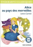 Alice au pays des merveilles de Lewis Carroll - Broché