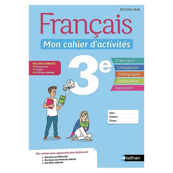 Francais 3e Mon Cahier D Activites