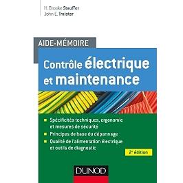 Contrôle électrique et maintenance : aide-mémoire