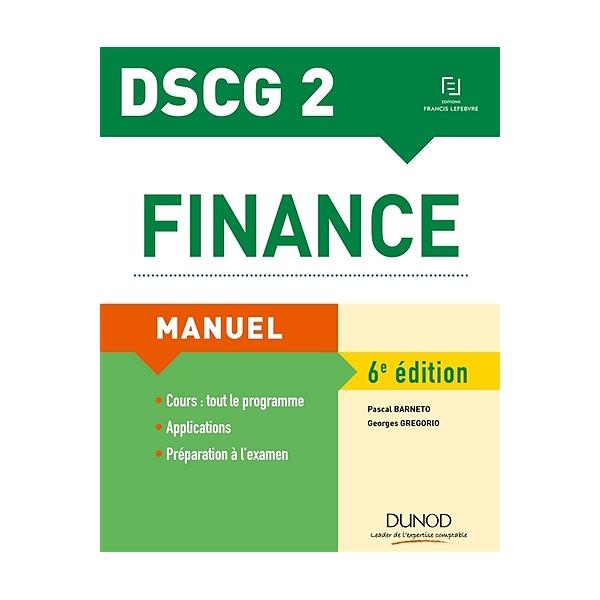 Calendrier Dscg 2019.Finance Dscg 2 Manuel