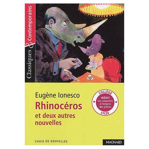 Rhinoceros Et Deux Autres Nouvelles Eugene Ionesco 9782210759176 Espace Culturel E Leclerc