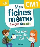 mes-fiches-memo-francais-et-maths-cm1-9-10-ans