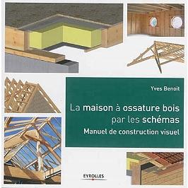 La maison à ossature bois par les schémas : manuel de construction visuel